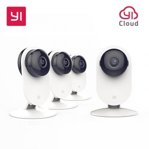 YI 4PC Home Camera with Night Vision