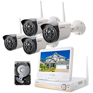 ONWOTE All-in-one Wireless Home Security Camera System